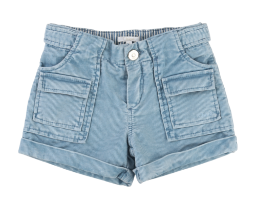 Chloè Cord-Short in hellblau