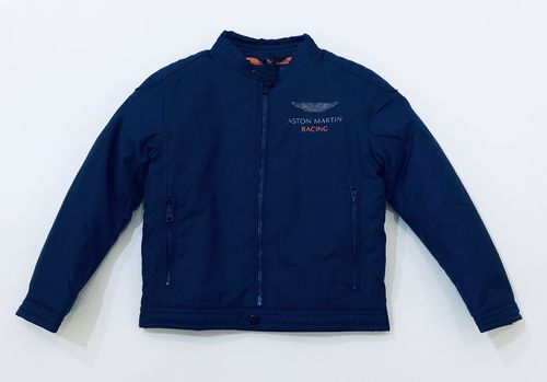 "Hackett London BIkerjacke blau ""Aston Martin Racing"""