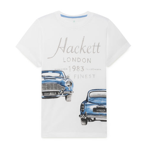 Hackett London T-Shirt weiß