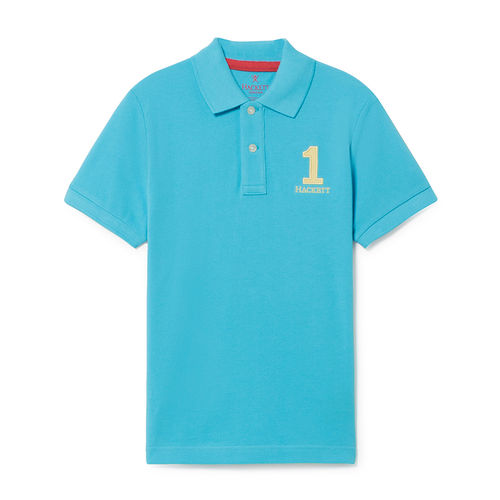 Hackett London Poloshirt türkis